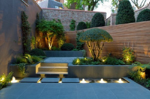 Simple Small Backyard Landscaping Ideas Community Entrance