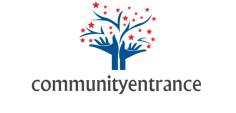 communityentrance.com Logo